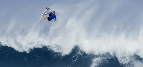 Tanner Hendrickson unleashed surfer