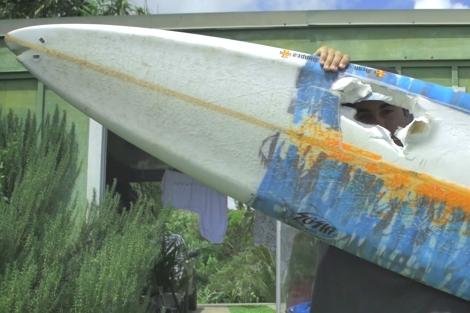 Tyler Larronde unleashed surfer