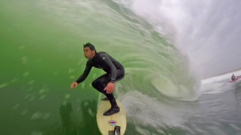 Guillaume Mangiarotti unleashed surfer